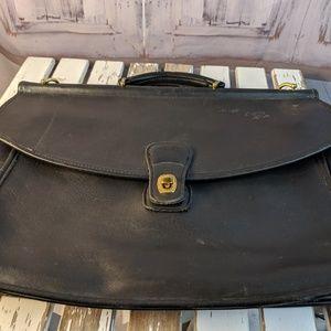 VTG Coach vintage briefcase laptop case bag handba